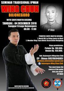 Wing Chun Journey Seminar Bojonegoro