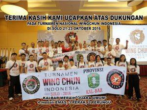 Tradisional Ip Man Wing Chun Pontianak,